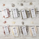 Flavoured Sea Salts Collection With Seven Salts