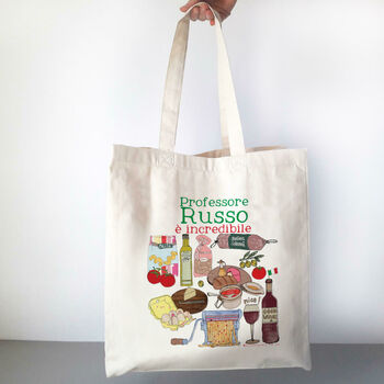 Personalised Italian Teacher Bag