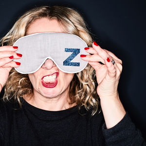 Alphabet Eye Mask