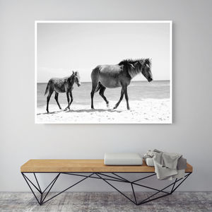 Beach Steads, Canvas Art