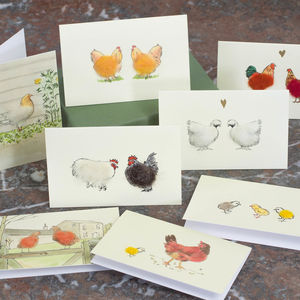 Boxed Collection Of Chicken Gift Cards