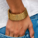 Isla Gold Statement Cuff
