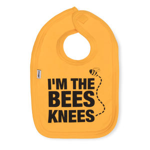 Im The Bees Knees Cotton Bib By Snuglo™