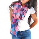 Nancy Silk Scarf