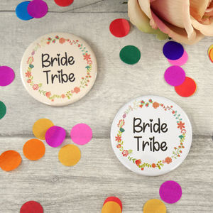 Bride Tribe Hen Night Badges