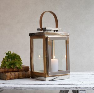 Reclaimed Teak Wooden Garden Lantern - lighting