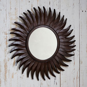 Fair Trade Rani Iron Mirror - mirrors