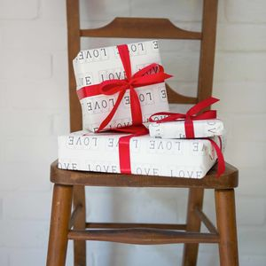 Luxury Love Gift Wrap And Tag - wrapping paper & gift boxes