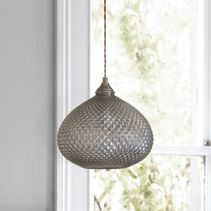 Decorative Glass Pendant Light - dining room