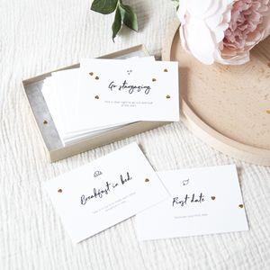 52 Date Night Cards - personalised