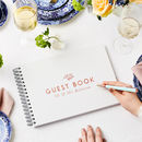Personalised Traditional Guest Book