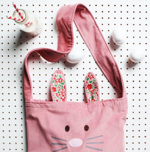 Kids Animal Messenger Bag And Optional Ears Set