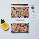Citrus Orange Tree A5 Notebook With Lined Pages