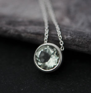 Gemstone Pendant Necklace - necklaces & pendants