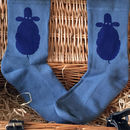 Bamboo Super Socks Hand Printed Sheep