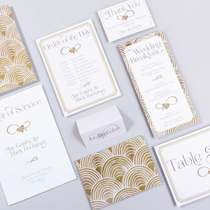 Table Plan, Numbers, Place Cards, Menus:The Charleston