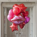 Valentine's Crazy Party Foil Balloon Pack