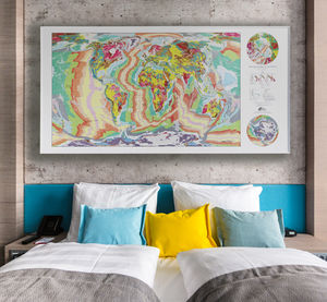 Huge Geology Map