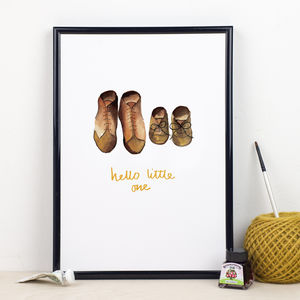 'Hello Little One' Print