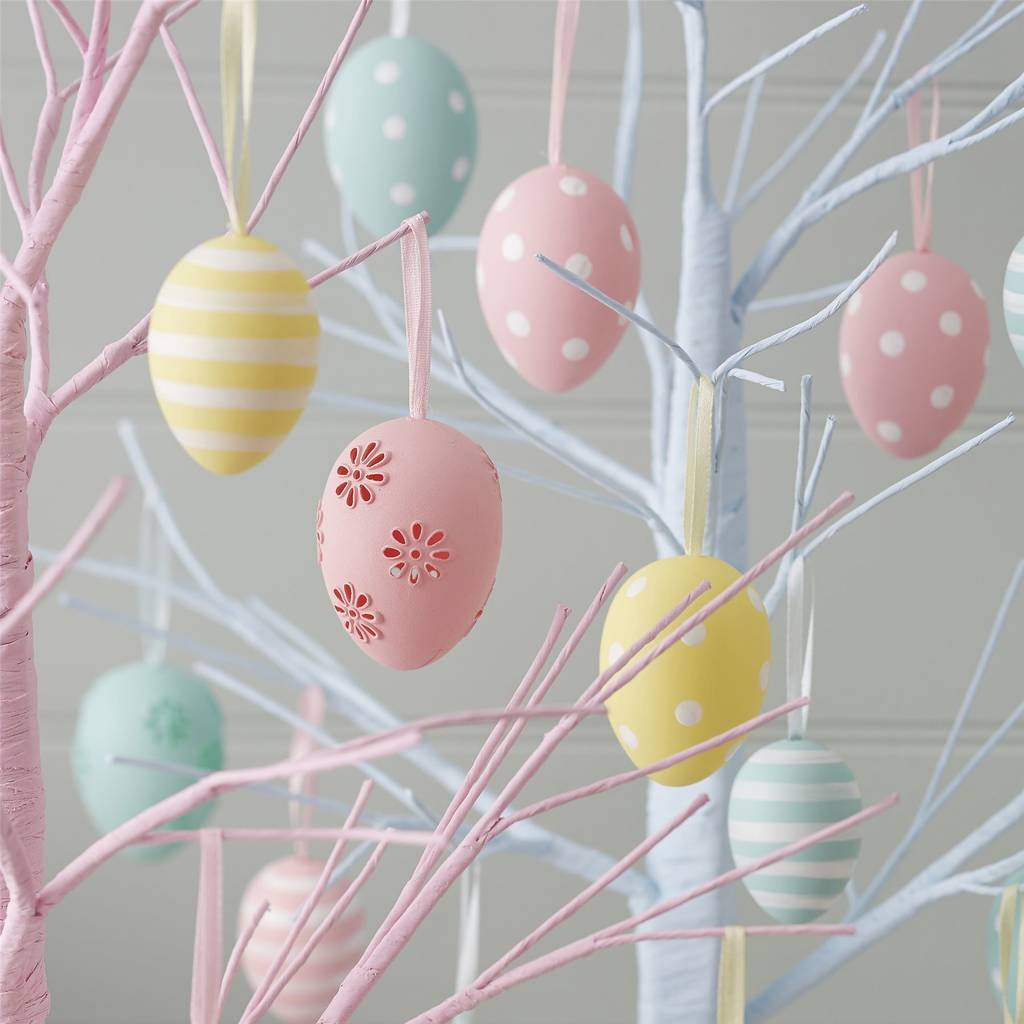 Easter egg decorations by the chicken and the egg for Easter egg ideas