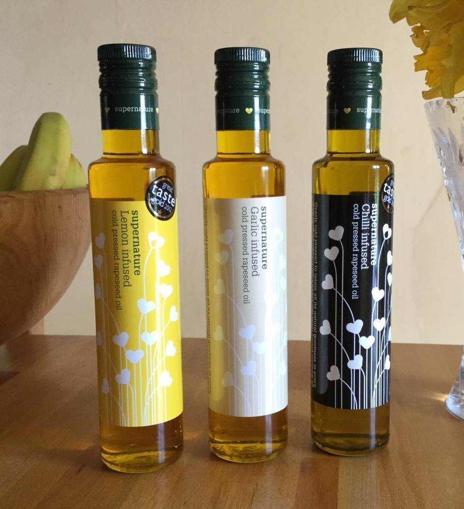 250ml Infused Oils, Choose Any Three
