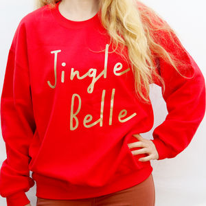 Jingle Belle Women's Christmas Jumper Sweatshirt