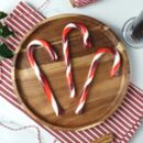 Boozy Mulled Wine Candy Canes