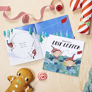 'The Lost Letter' Personalised Christmas Book - gifts for children