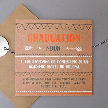 Funny Graduation Card