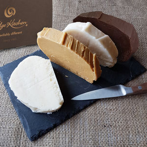 Dairy Free Whipping Cream Fudge Selection - chocolates & confectionery