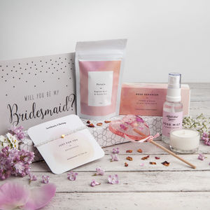 'The Bridesmaid's Box' Letterbox Gift Set - bridesmaid cards
