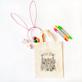 Personalise Your Own Easter Egg Hunt Bag