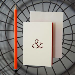 Ampersand Card