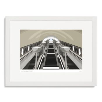 Clapham South Stairs Art Print