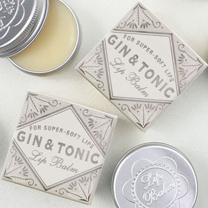 Gin And Tonic Lip Balm Duo - gift sets