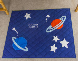 Children's Outer Space Floor And Play Mat - more