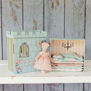 Maileg Princess Mouse And The Pea - toys & games