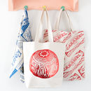 'Tunnock's Teacake' Foil Print Tote Bag