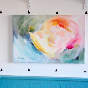 'Happy' Original Contemporary Abstract Painting
