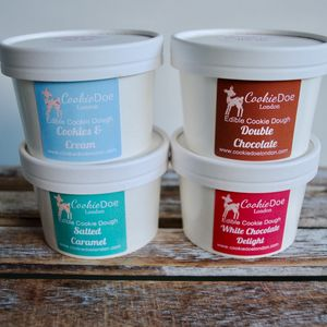 Edible Cookie Dough Four Pack