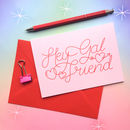Hey Gal Friend Galentine's Day Card