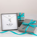 Gift Boxes and Personalised Message Card by Lily Charmed
