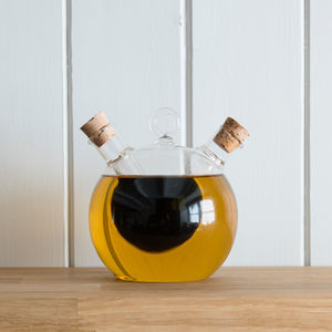 Bubble Oil And Vinegar Bottle