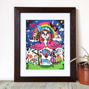 'Alice In Wonderland Print', Retro Art, Limited Edition