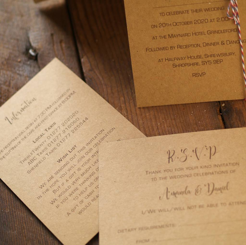 Wedding Abroad Invitation Wording Ideas: Personalised Abroad Wedding Invitations By Beautiful Day