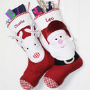3D Christmas Character Stockings