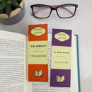 Book Lover Bookmark Set