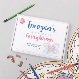 Personalised My Little Box Of Fairy Wings - whatsnew