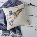 Scottish Animals Cushion Cover
