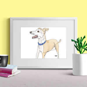 Personalised Dog Full Portrait